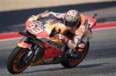 Marc Marquez fidèle aux attentes en essais libres 1 et 2