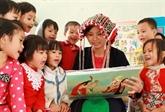 Efforts pour encourager les filles des ethnies minoritaires à aller à l'école