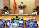 Le Premier ministre préside la réunion de septembre du gouvernement