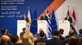 Énergie : signature d'un accord entre l'Égypte, la Grèce et Chypre