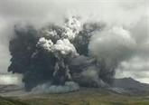 Japon : le volcan Aso est entré en éruption