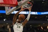 NBA : les Bucks, champions en titre, envoient du bois d'entrée de saison
