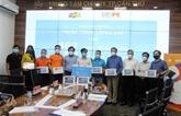 FPT offre des matériels d'apprentissage en ligne aux élèves de Cân Tho
