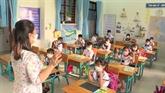 COVID-19 : retour à l'école des élèves d'une commune insulaire à Hô Chi Minh-Ville