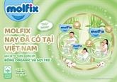 Fabrication de couches pour bébés de marque Molfix au Vietnam