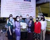 COVID-19 : les Vietnamiens au Laos s'entraident pour surmonter les difficultés