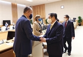 Le PM reçoit une délégation de représentants des organes onusiens au Vietnam