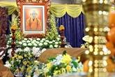 Le président Nguyên Xuân Phuc rend un dernier hommage au vénérable Thich Phô Tuê