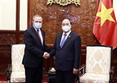Le président vietnamien reçoit l'ambassadeur d'Algérie sortant