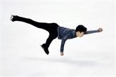 Patinage artistique : Nathan Chen en difficulté à l'entame du Skate America