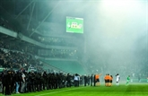 Ligue 1: Saint-Etienne arrache un nul au bout de la nuit... et des incidents