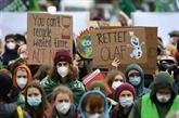 Allemagne : des manifestants pro-climat en appellent au futur gouvernement