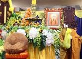 De nombreuses délégations rendent un dernier hommage au vénérable Thich Phô Tuê