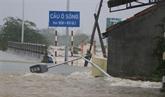 Les inondations causent beaucoup de dégâts dans le Centre