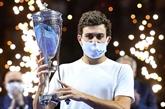 Tennis : sacrés à Moscou, Karatsev et Kontaveit confirment leur ascension