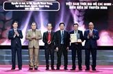 Remise des 15es Prix nationaux de la presse