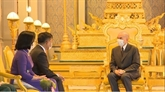 Le roi Norodom Sihamoni salue l'essor des relations Cambodge - Vietnam