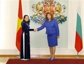 La vice-présidente vietnamienne en visite officielle en Bulgarie
