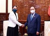 Le président vietnamien reçoit l'ambassadeur de Nouvelle-Zélande
