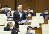 Assemblée nationale : continuation des discussions de projets de loi