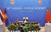 Le Premier ministre vietnamien participe au 24e Sommet ASEAN - Chine