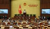 L'Assemblée nationale discute des politiques spécifiques pour quatre localités
