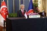 Singapour salue l'engagement des États-Unis envers AUKUS de soutenir le rôle central de l'ASEAN