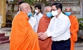 Le Premier ministre remercie les dignitaires et les compatriotes religieux