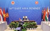 Sommet d'Asie de l'Est : le PM reçoit les ambassadeurs, chargés d'affaires de plusieurs pays