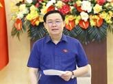 Le président de l'AN félicite l'Université d'économie de Hô Chi Minh-Ville pour son anniversaire