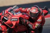 GP moto des Amériques : Bagnaia ne lâche rien face à Quartararo