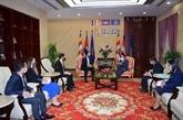 Le Cambodge appelle à une solution pacifique en Mer Orientale