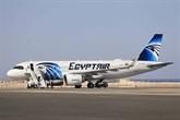 Le premier vol officiel d'EgyptAir atterrit en Israël