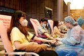 Dons de sang à Phu My Hung