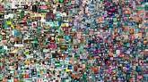 Les enchères d'art contemporain dopées par les NFT, selon Artprice