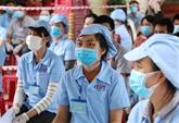 Aide humanitaire pour des travailleurs migrants à Hô Chi Minh-Ville