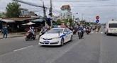 La police de Dông Nai soutient au retour de 20.000 personnesvers leurs localités d'origine