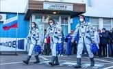Une équipe russe à bord de l'ISS pour signer le premier film en orbite