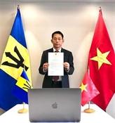 Le Vietnam et la Barbade disposent d'énormes potentiels de coopération dans plusieurs domaines 