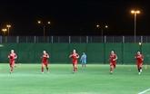 L'équipe vietnamienne se prépare bien à son match contre la Chine