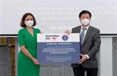 Le Vietnam reçoit 300.000 doses de vaccin et des équipements d'Australie