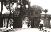 Les portes de la ville Hanoï