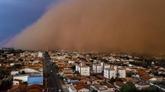 Brésil : six morts dans de violentes tempêtes de sable