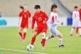 Coupe d'Asie féminine de football 2022 : le Vietnam qualifié pour la phase finale