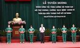 Hô Chi Minh-Ville félicite les personnes et organisations impliquées dans la lutte anti-COVID