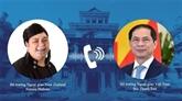 Vietnam - Nouvelle Zélande : conversation téléphonique entre les deux ministres des AE