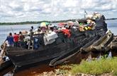 RDC : plus d'une centaine de morts et disparus dans un naufrage sur le Congo
