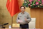 Le Premier ministre demande de s'adapter en toute sécurité à la pandémie