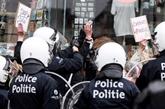 Arrestations à Bruxelles pour éviter des manifestations contre les mesures anti-COVID