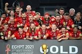 Mondial de hand : le Danemark double la mise